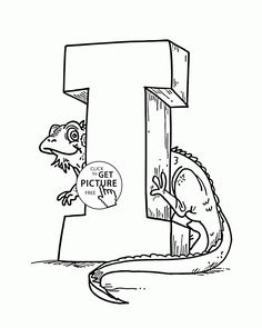 104 Best Alphabet&Numbers coloring pages images in 2016