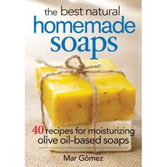 Mar Gomez, the author of The Best Natural Homemade Soaps: 40 Recipes for Moisturizing Olive Oil-Based Soaps, joins us . Homemade Soap Recipes, Homemade Gifts, Homemade Cards, Homemade Facials, Homemade Paint, Homemade Scrub, Carrot Soap Recipe, Diy Savon, Honey Soap