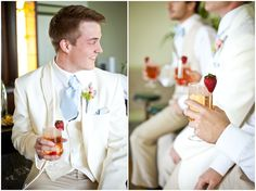 Gatsby Party Styled Shoot fruit accent on drinks