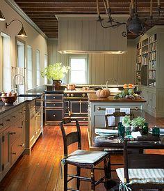 Gil Schafer Gatewood house - fall kitchen