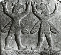 Hittite, two bird man, Kargamış, Museum of Anatolian Civilization, Ankara (Ekrem Akurgal) (Erdinç Bakla archive)