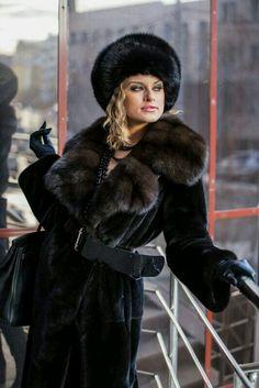Inspiration B: Fur fashion.