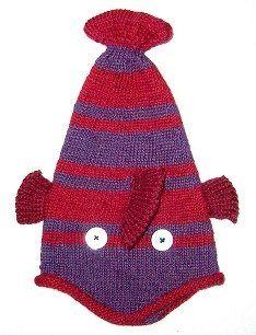 knit hat patterns free | List of fish knitting patterns