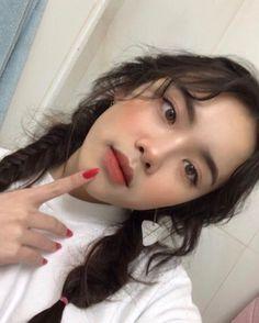 Makeup korean natural make up Trendy Ideas Korean Makeup Look, Korean Makeup Tips, Korean Makeup Tutorials, Make Up Looks, Makeup Eyeshadow, Hair Makeup, Beauty Makeup, Makeup Drop, Makeup Eyebrows