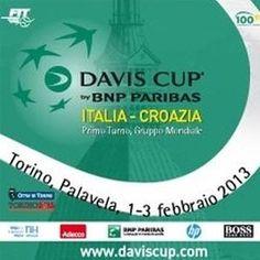 Torino - Coppa Davis - 1-3 Febbraio 2013 - Italia vs Croazia