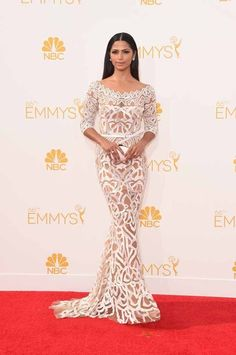 Camila Alves | All The Red Carpet Looks From The 2014 Emmy Awards