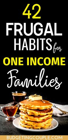 Find out how to THRIVE as a one income family! These frugal tips and tricks are your roadmap to saving money month after month and achieving frugal living (even if you're a beginner! These money saving tips and frugal living habits are the perfect way t Best Money Saving Tips, Money Saving Challenge, Money Tips, Saving Money, Money Hacks, Investing Money, Frugal Family, Frugal Living Tips, Frugal Tips