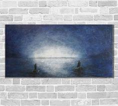 Details zu Kunstgalerie Winkler Abstrakte Acrylbilder Malerei Maritim Unikat…