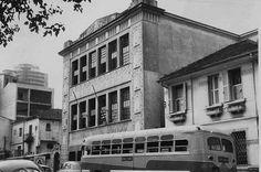 Old Elvira Brandao College at Alameda Jau (circa 1955) Sao Paulo - Brazil