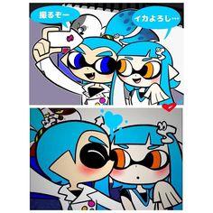 Squid selfie!  #splatoon #squidkids #selfie