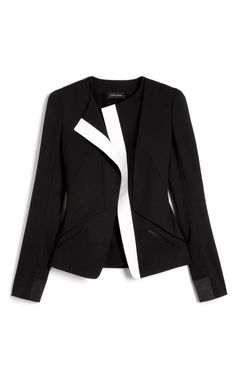 Wool Gabardine Jacket by Narciso Rodriguez for Preorder on Moda Operandi