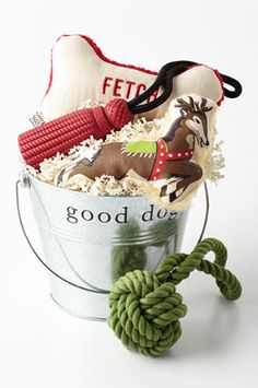 'good dog' Christmas tin  http://rstyle.me/n/thezwpdpe