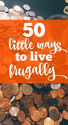 I started making small changes to start living frugally and it really adds up.