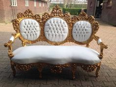 ANTIQUE ITALIAN BAROQUE UNIQUE SOFA/COUCH/LOVE SEAT -