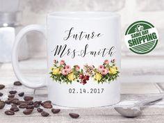 Future Mrs Mug Gift Engagement Mr And