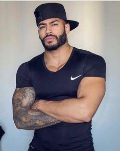 Black Men Beards, Handsome Black Men, Dapper Day, Beard Love, Male Beauty, Black Beauty, My Black, Muscle Men, Mens Clothing Styles