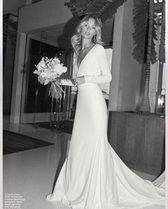 wedding dress Blown away with this inspired bride Dream Wedding Dresses, Wedding Gowns, 70s Wedding Dress, Inbal Dror Wedding Dress, Lace Wedding, Wedding Trends, Wedding Styles, Wedding Ideas, Bridal Style