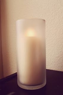frosted candle holders super cheap to make