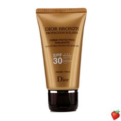 Christian Dior Dior Bronze Beautifying Protective Suncare SPF 30 For Face 50ml/1.7oz #ChristianDior #Skincare #SunScreen #SummerSpecials #Summer #Beach #Beauty #HotPick #FREEShipping #StrawberryNET