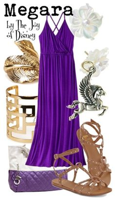 Casual outfit inspired by Megara from the movie Hercules!