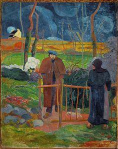 Paul Gauguin, Bonjour, Monsieur Gauguin, 1889.