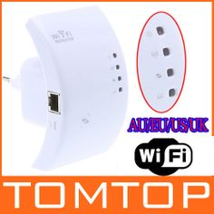 Wireless-N Wifi Repeater 802.11N/B/G Network Router Range Expander 300M 2dBi Antennas Signal Boosters Free Drop Shipping | aliexpress.com