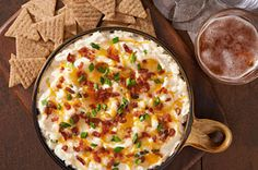 """Unique like an ugly sweater, TRISCUIT Crackers Loaded """"Baked Potato"""" Dip will wow with fresh and creamy tastes."""