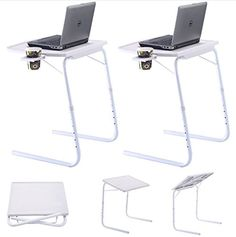 Adjustable Computer Desk Bed Learning Household Computer Table Laptop Desk For Home Office Use Folding Mobile Bedside Table Cleaning The Oral Cavity. Office Furniture