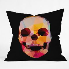 Three Of The Possessed Skull Sunrise Throw Pillow Cover-39415-1ths16 NZ$29.00 on Nzsale.co.nz