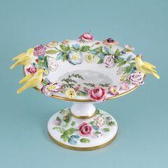 SPODE Unusual porcelain tazza.  1820