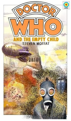 Contemporary Doctor Who Episodes as Retro Book Covers