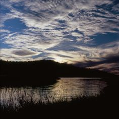 Sunset at Quemado Lake, Gila National Forest