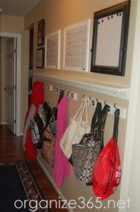 How valuable is your front hall closet? Professional Organizer Lisa Woodruff shares some out of the box front hall closet organization ideas. | Organize 365