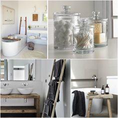 Ξύλινα διακοσμητικά στοιχεία στο μπάνιο σας!