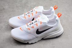 Buy Mens Nike Presto Fly Just Do It White Black Orange AQ9688-100-3 1bd250ab0