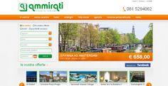 Ammirati #agenziadiviaggi e turismo è on line.  Sito web realizzato da Estensa