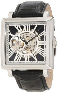 Stuhrling Original Mens Square Silvertone Watch Set    List Price: $495.00  Buy New: $129.00