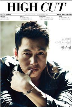 Korean Actor Jung Woo Sung