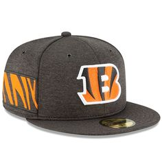Cincinnati Bengals New Era 2018 NFL Sideline Home Official 59FIFTY Fitted  Hat – Black dd763535ed1