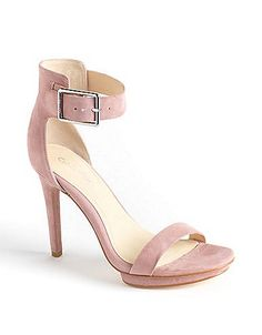 Vivian Suede Sandals | Lord and Taylor