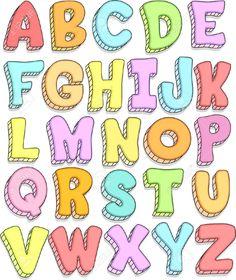 cartoon letters png - Pesquisa Google