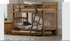 """Josephâ""""¢ Maple Bunk Bed Lovely Kids Wooden Bunk Bed - with Maple Finish The childrens bunk bed is a classic item of bedroom furniture and this beautiful wooden example is sure to look great in any room. Made in solid wood  http://www.comparestoreprices.co.uk/bunk-beds/joseph-maple-bunk-bed.asp"""
