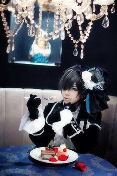 Ciel Phantomhive from Kuroshitsuji or Black Butler Cosplay
