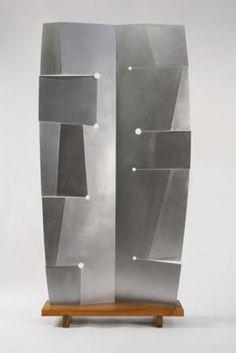 Isamu Noguchi- Orpheus 83 x 44 1/4 x 6 5/8 in. (210.8 x 112.4 x 16.8 cm) Base: 5 x 40 x 11 5/8 in. (12.7 x 101.6 x 29.5 cm)