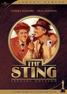 The Sting. One of my Favorite Uncles took me and my friends( a bunch of 14 years old girls) to see this when it came out. Thanks Uncle Doug...R.I.P.