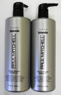 Paul Mitchell Forever Blonde Shampoo & Conditioner 24 Oz
