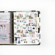 Memory planner- lots of inspiration here.. collage of pictures each month, how to use the daily boxes, what to incorporate...