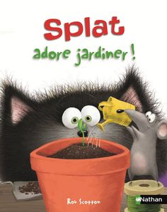 Splat the Cat: Oopsie-Daisy by Rob Scotton --So excited! Splat is one of my favorite fictional cats! Splat Le Chat, Album Jeunesse, Ms Gs, Free Reading, Book Series, Bestselling Author, New Books, Childrens Books, Daisy