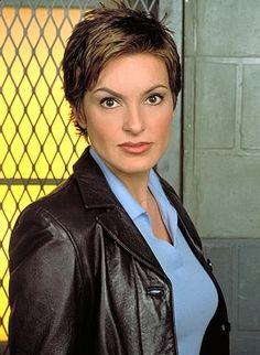 mariska hargitay short hair | Figure 1. Olivia Benson (NBC promotional image).