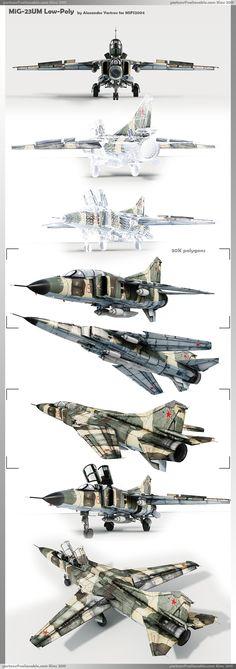 Многоцелевой истребитель МиГ-23УМ